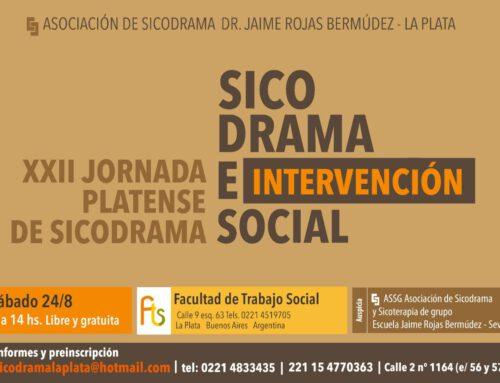 XXII JORNADA PLATENSE DE SICODRAMA