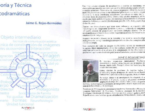 2ª edición del libro Teoría y Técnica Sicodramáticas